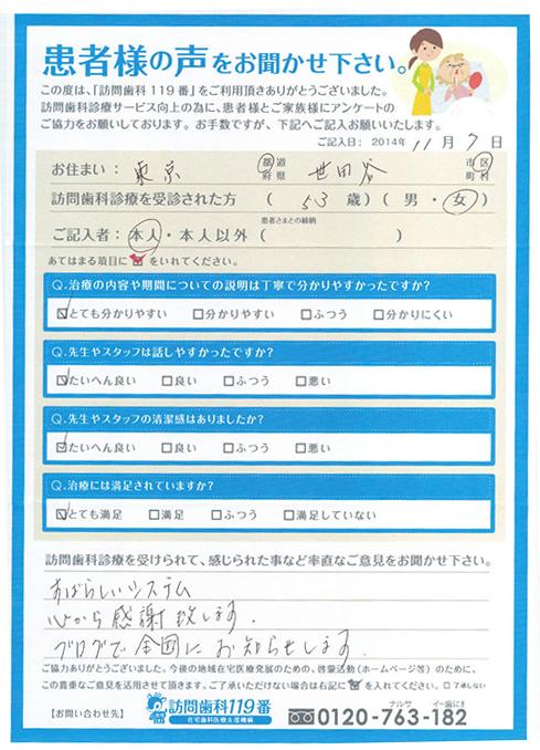 東京都在住 53歳 女性